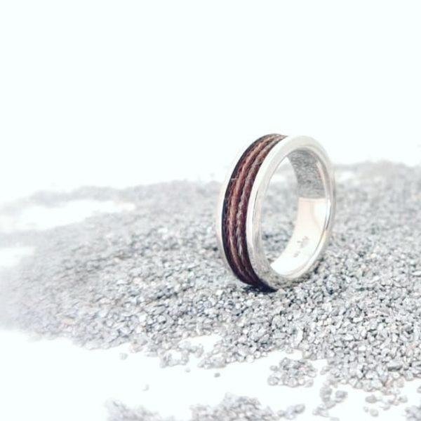 Schmuck_aus_Pferdehaar_Ring